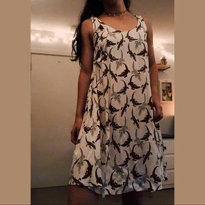 Flowy lizard dress